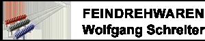 Feindrehwaren Wolfgang Schreiter-Logo